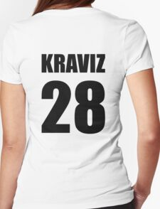 Kraviz 28 (Nina Kraviz) - techno tshirt Womens Fitted T-Shirt
