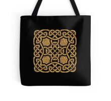 Golden celtic ornament Tote Bag