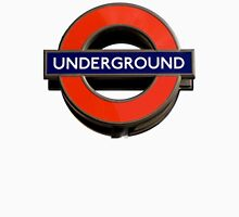 UNDERGROUND, TUBE, SIGN, Roundel, platform, Ealing Broadway, Westminster, BRITISH, BRITAIN, UK Unisex T-Shirt