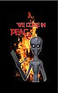 We Come in Peace  by LoneAngel