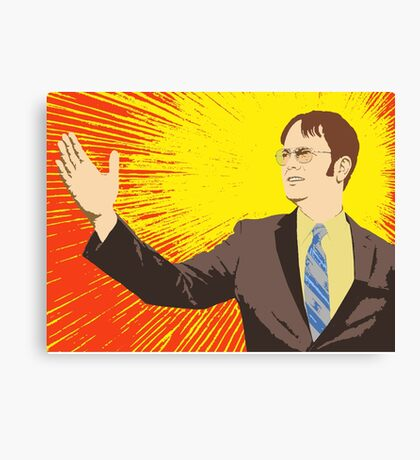 Dwight  - Rising Sun Canvas Print