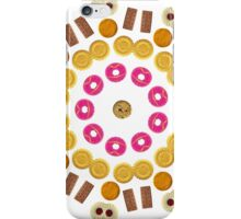 Kaleidoscope Biscuit Circular Pattern iPhone Case/Skin