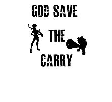 God save the carry Photographic Print