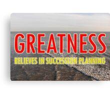 Succession Planning Canvas Print