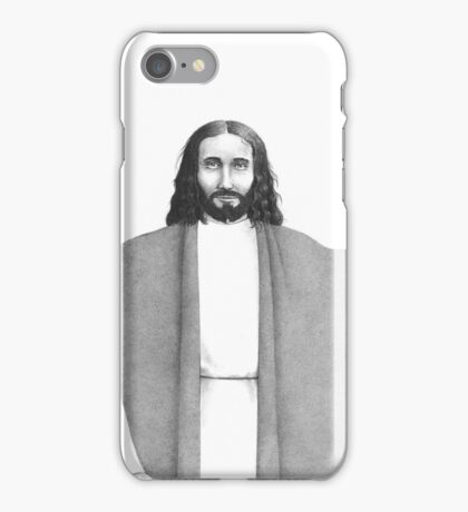 Jesus, with Mary and Martha iPhone Case/Skin