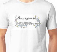 Silence is Golden Unisex T-Shirt