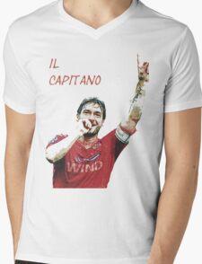 Francesco Totti as roma capitano Mens V-Neck T-Shirt
