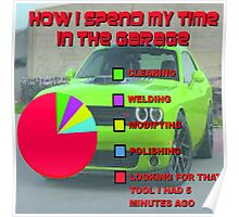 Time in the Garage Poster