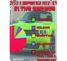 Time in the Garage iPad Case/Skin