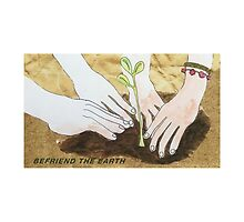 befriend the earth by Ola Lorens