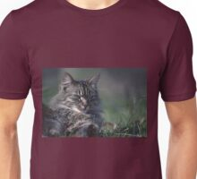 """Chat - Cat  """" Tchink boom"""" 01 (c)(t) ) by Olao-Olavia / Okaio Créations 300mm  f.2.8 canon eos 5  1989 Unisex T-Shirt"""