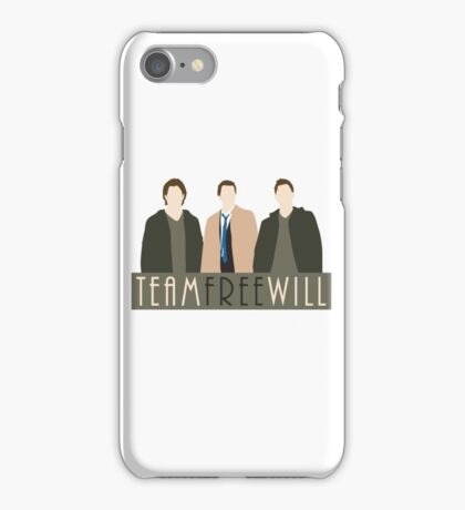 Team Free Will iPhone Case/Skin