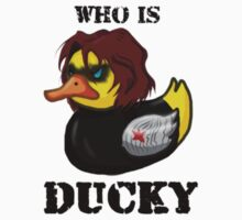 "Who is ""Ducky?"" Kids Tee"