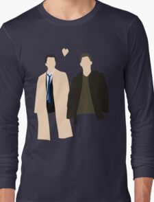 Destiel is real Long Sleeve T-Shirt