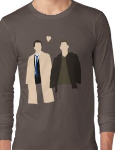 Destiel is real Long Sleeve T-Shirt