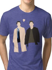 Destiel is real Tri-blend T-Shirt