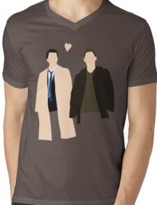 Destiel is real Mens V-Neck T-Shirt