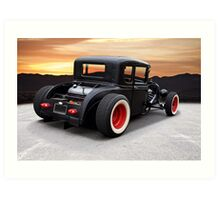 1929 Ford 'Rock n Roll' Coupe Art Print