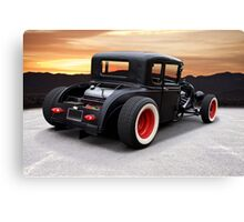1929 Ford 'Rock n Roll' Coupe Canvas Print