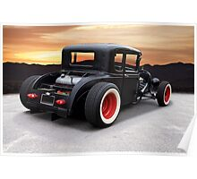 1929 Ford 'Rock n Roll' Coupe Poster