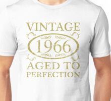 Vintage 1966 Birthday Unisex T-Shirt