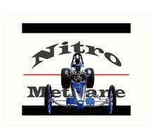 Nitro Nostalgia Dragster Art Print