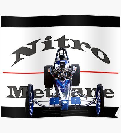 Nitro Nostalgia Dragster Poster