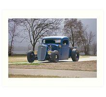 1935 Chevrolet 'Hot Rod' Pickup Art Print