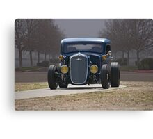 1935 Chevrolet 'Hot Rod' Pickup II Canvas Print