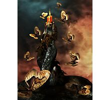 Moths to a Flame Photographic Print