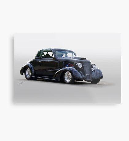 1936 Chevrolet 'Asphalt Aggravation' Coupe I Metal Print