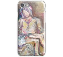 The Pieta iPhone Case/Skin