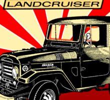 Vintage Land Cruiser Sticker