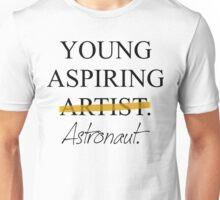 Young Aspiring Astronaut Unisex T-Shirt