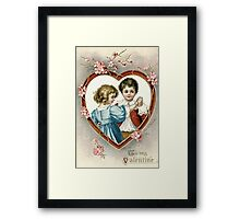 To My Valentine Framed Print