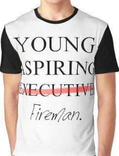 Young Aspiring Fireman Graphic T-Shirt