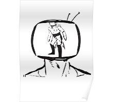Saga Prince Robot IV stencil Poster