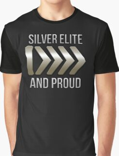 I'm Silver Elite and Proud Graphic T-Shirt