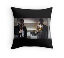 pulp fiction - coffee mugs Throw Pillow