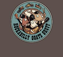 The Rockbilly Goats Gruff Logo Old Timey Womens Fitted T-Shirt