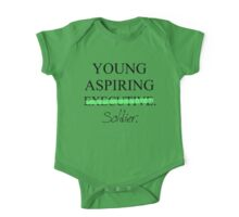 Young Aspiring Soldier One Piece - Short Sleeve