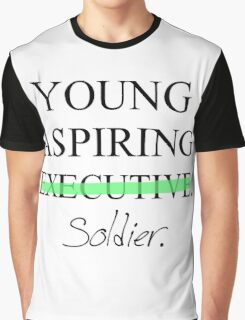 Young Aspiring Soldier Graphic T-Shirt
