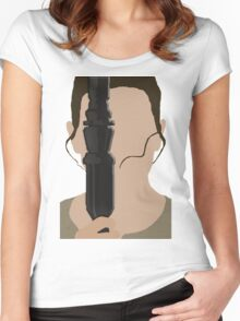 The Force Awakens: Rey Women's Fitted Scoop T-Shirt