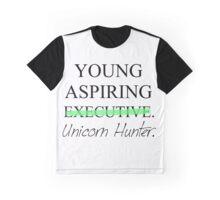 Young Aspiring Unicorn Hunter Graphic T-Shirt