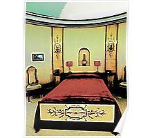 The Art Deco Bedroom Poster