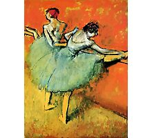 Ballerinas at the barre Photographic Print