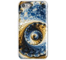Hypnotic Vortex fractal mandelbrot set iPhone Case/Skin