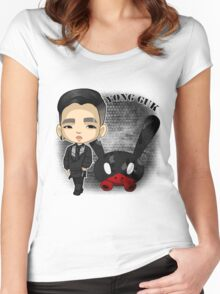 B.A.P - Matrix (Yongguk) Women's Fitted Scoop T-Shirt