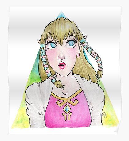 Skyward Sword Zelda Poster