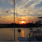 Sunset in Georgetown, SC by Cynthia48